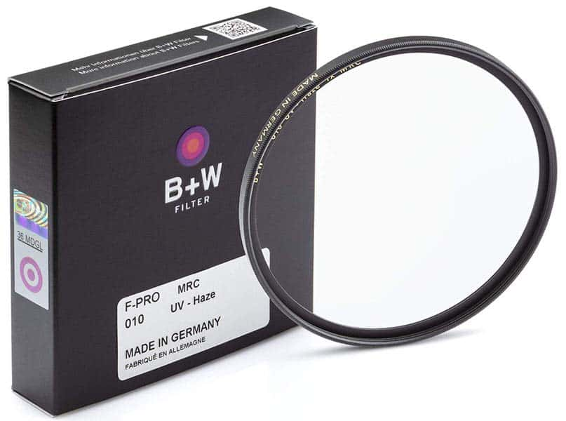 B + W 67mm UV Protection Filter