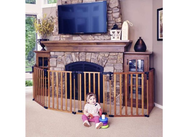Toddleroo by North States 3-in-1 Wood Super yard