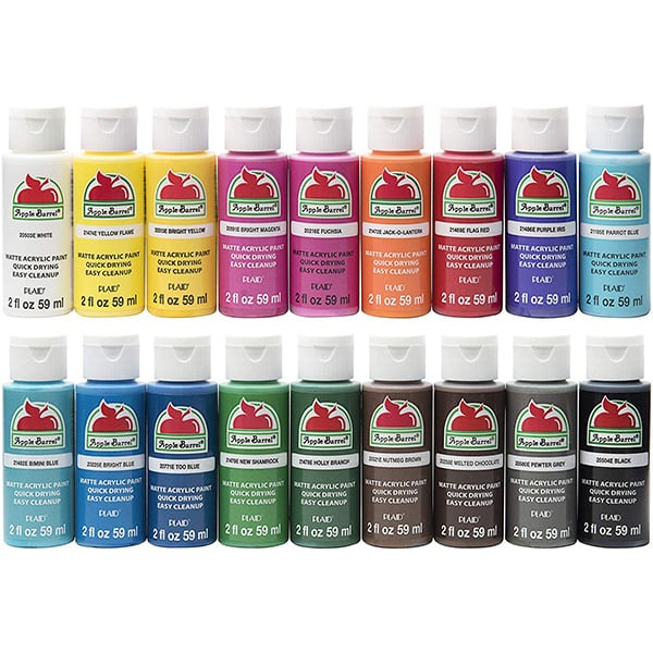 Apple Barrel PROMOABI Assorted Paints