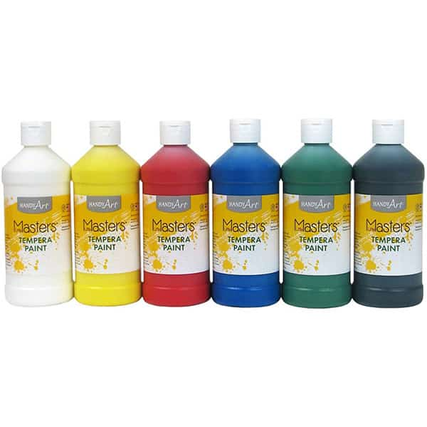 Handy Art Little Masters Tempera Paints Set