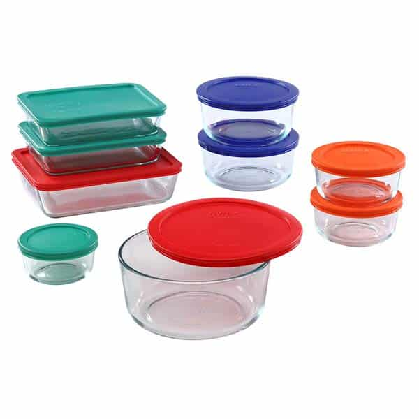 Pyrex Meal Prep Simply Store Glass Containers