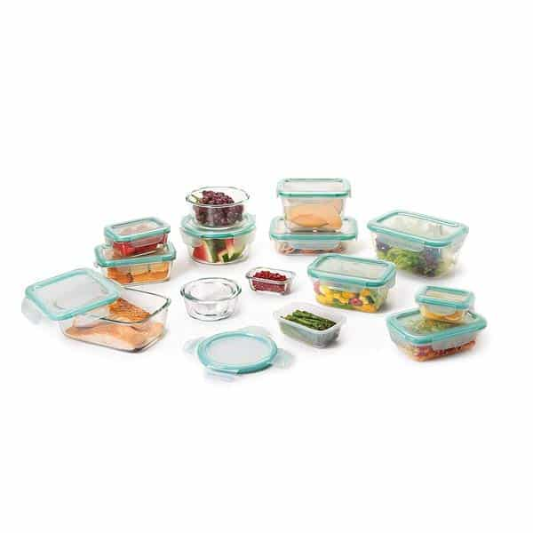 OXO Good Grips Glass and Plastic Container Set