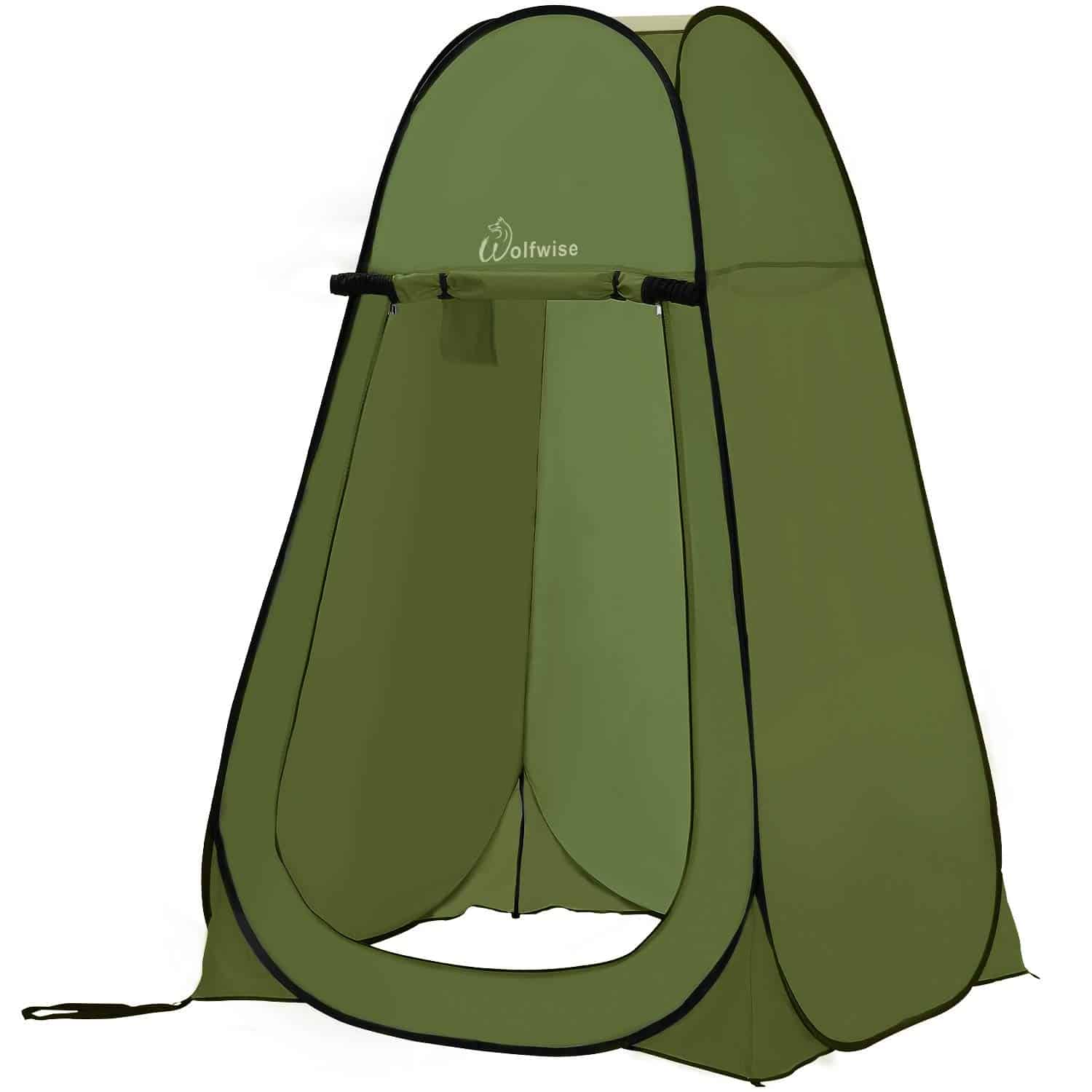 WolfWise Pop Up Sun Shelter Shower Tent