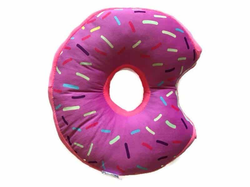 UberMade Donut Plush Pillow Stuffed Cushion
