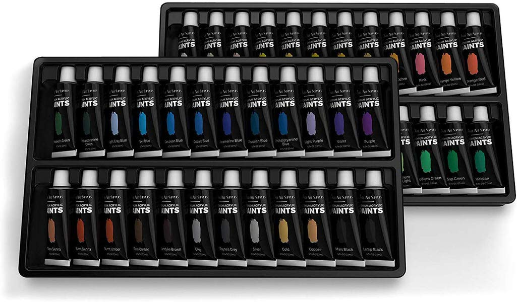 Castle Art Supplies Acrylic Paints Set