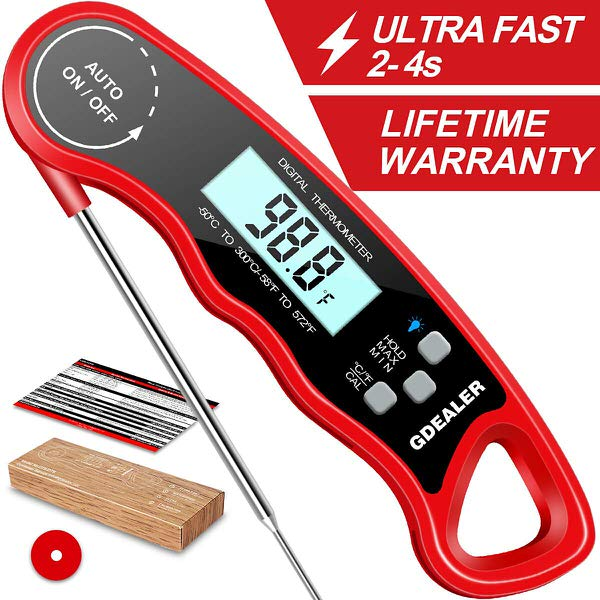 GDEALER DT09 Instant Read Meat Thermometer
