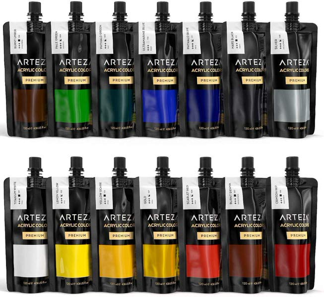 ARTEZA Acrylic Paints