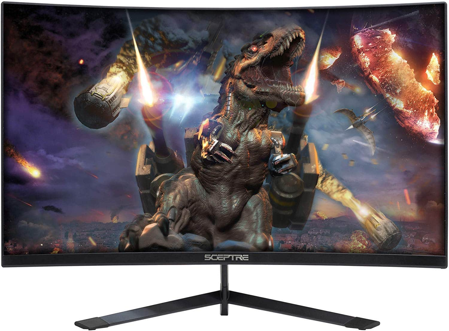 Sceptre 27-inch Curved 144Hz Gaming LED Monitor (Edge-Less)