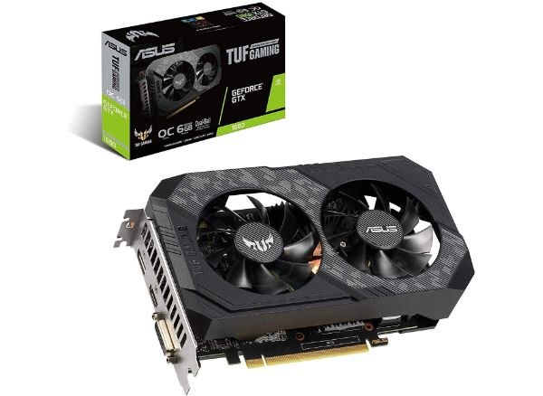 Asus TUF Gaming GeForce GTX 1660 Overclocked Gaming Graphics Card