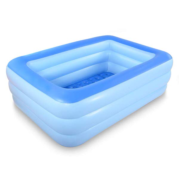 HIWENA Inflatable Family Swim Play Center Pool
