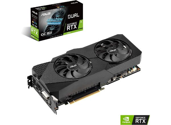 ASUS GeForce RTX 2070 Overclocked Graphics Card