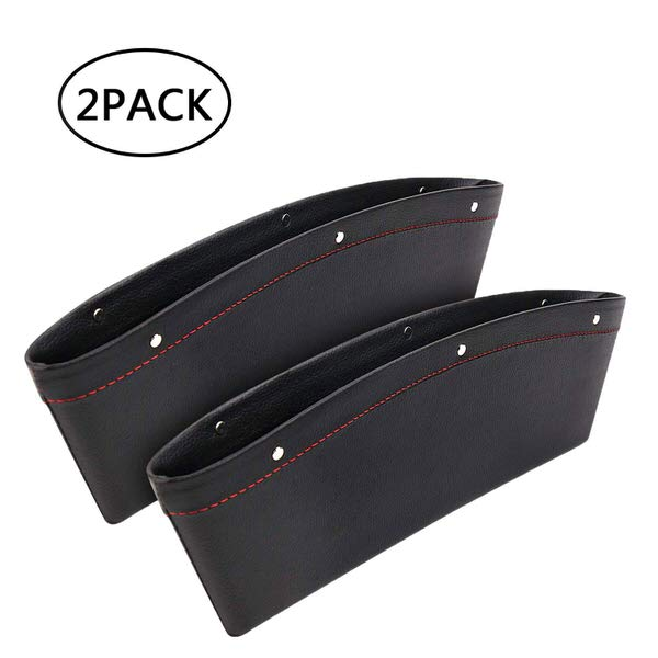 AMOYON 2 Pack Premium Leather Car Gap Filler