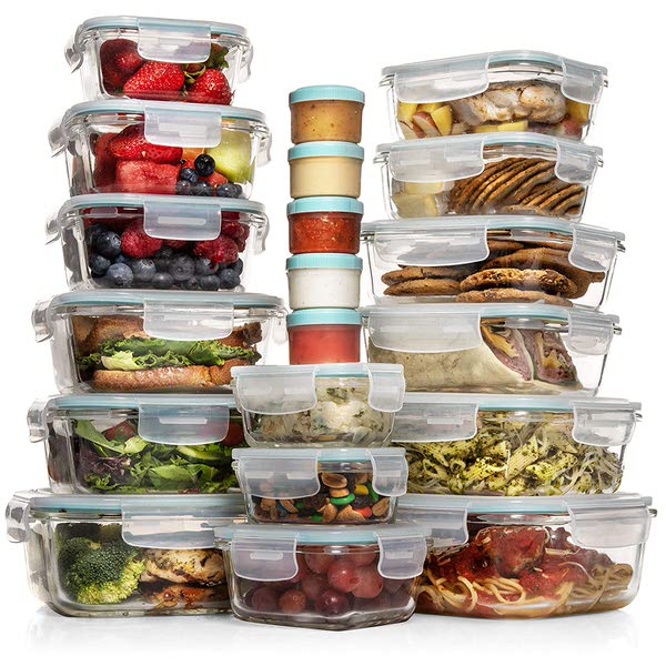 Razab Glass Food Storage Containers with Lids
