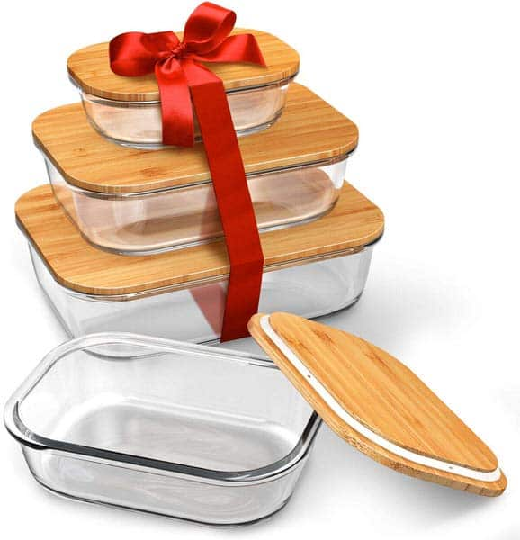 Greener Chef Glass Food Storage Containers