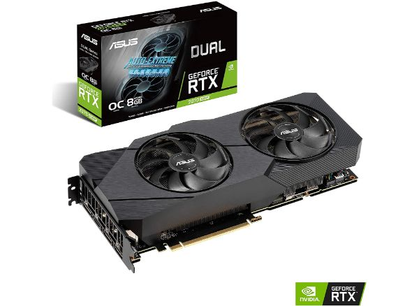 ASUS GeForce RTX 2070 8G EVO GDDR6 Gaming Graphics Card