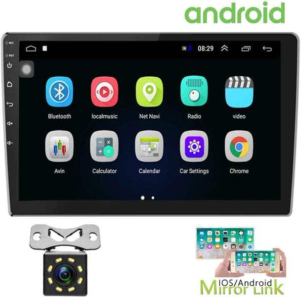 Hikity Double Din Android Car Stereos