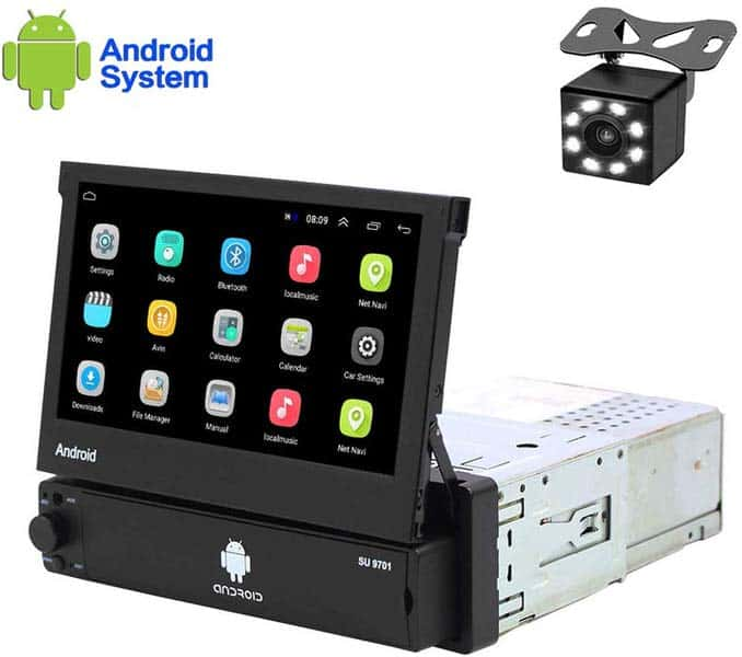 Hikity Android Flip Out Touch Screen Stereos