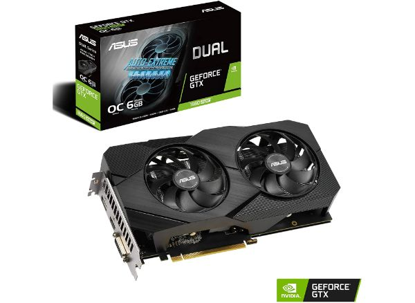 Asus GeForce GTX 1660 Super Overclocked 6GB Dual-Fan Graphics Card