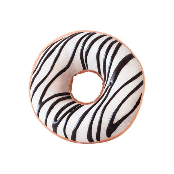 HYSEAS Donut Shaped Throw Pillow
