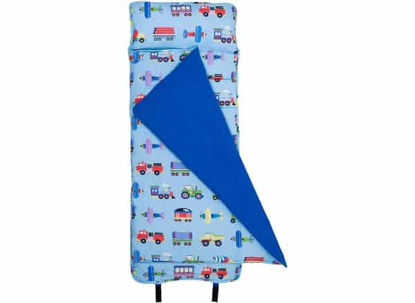 Wildkin Nap Mat with Pillow for Toddler Boys and Girls