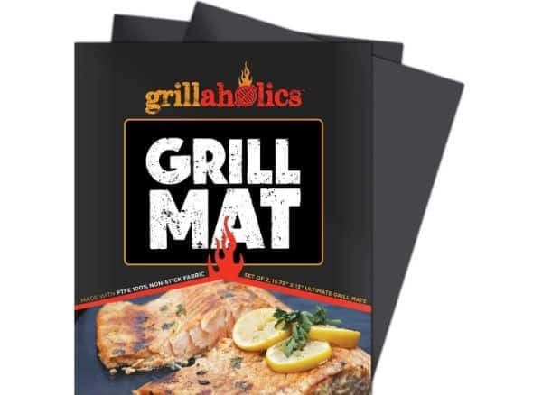 Grillaholics Set of 2 Heavy Duty BBQ Grill Mats