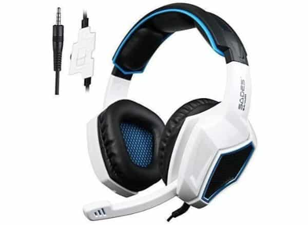 Sades Over Ear Stereo Gaming Headphones