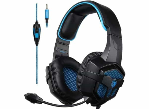 SADES Stereo Sound Gaming Headset