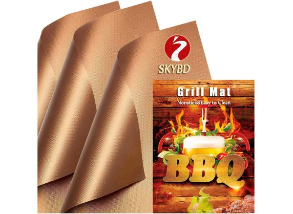 SKYBD Copper Grill Mat