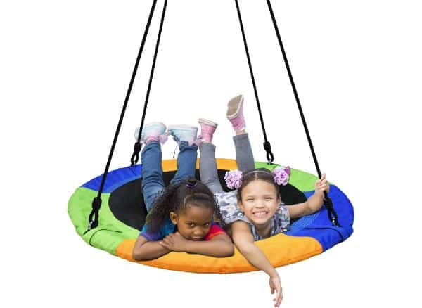 PACEARTH 40 Inch Saucer Tree Swing Flying