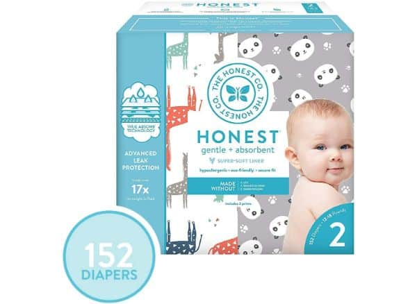 The Honest Company Box Diapers