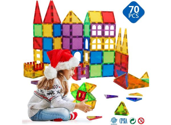 Magnetic Toys for Toddlers by Magblock