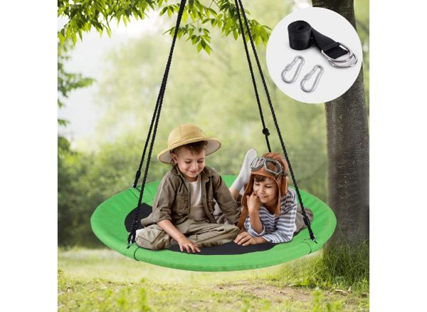 WONDERVIEW Outdoor Tree Swing with Hanging Strap Kit