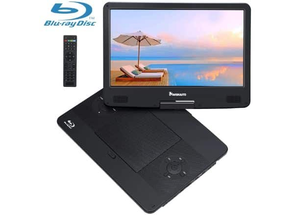 NAVISKAUTO Portable Blu-Ray DVD Player