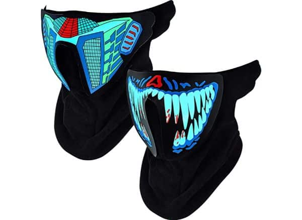 Gejoy Led Music Party Mask