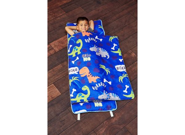 EVERYDAY KIDS Roarin' Dinos Toddler Nap Mat