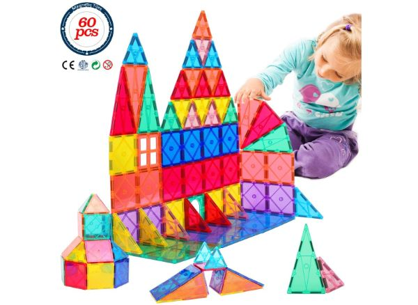 Magnetic Building Tiles Toys by FUTURE MIRCALE
