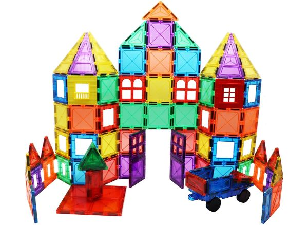 SKYMAGS Magnetic Building Tiles