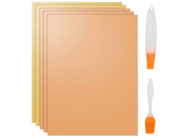 ATPWONZ 5-Pack Copper Grill Mat and Baking Mat