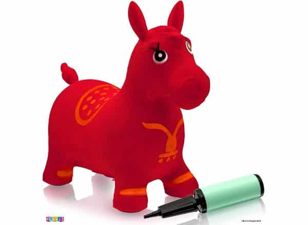 Play22 Hopper RED Inflatable Horse Bouncer