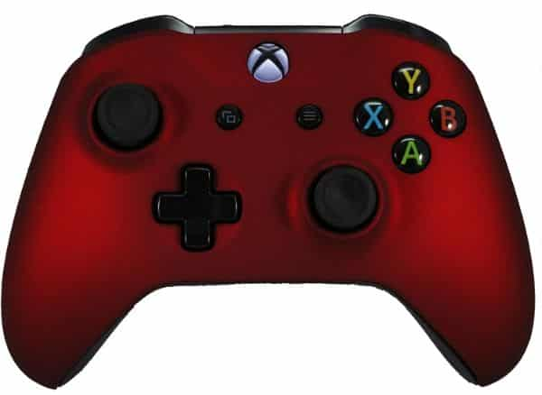 ModdedZone Xbox One Red Modded Rapid Fire Controller