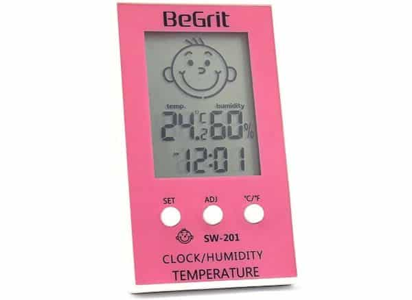 BeGrit Digital Hygrometer Thermometer Indoor Humidity Monitor