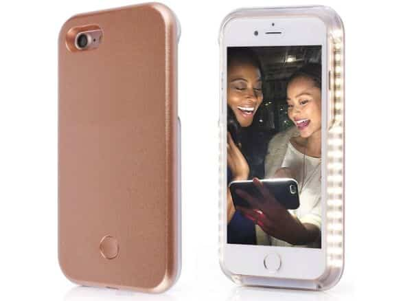 Spruce & Co Selfie LED Light Case for iPhone Cover