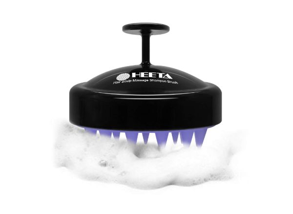 Heeta Shampoo Brush with Soft Silicone Head Massager