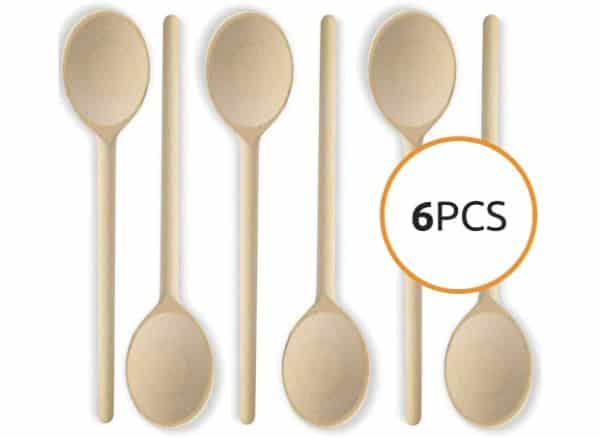 Mr. Woodware 6 Pieces of Wooden Spoon