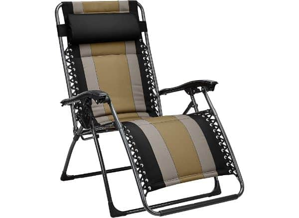 AmazonBasics Black Zero Gravity Chair
