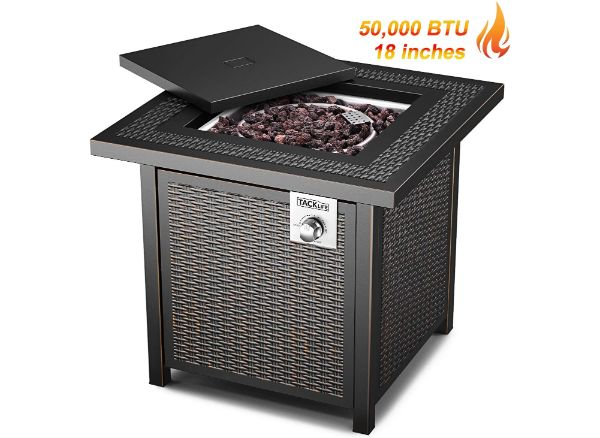 TACKLIFE Gas Fire Pit Table