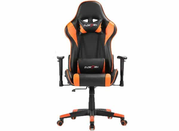 MORFAN Gaming Chair New Size with Massage and Rocking Function
