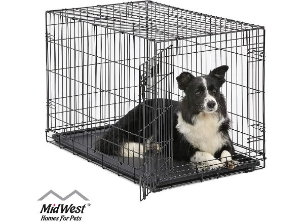 Midwest Homes for Pets iCrate Single and Double Door Dog Crate