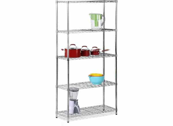 Honey-Can-DO Adjustable SHF-01443 Storage Shelving Unit