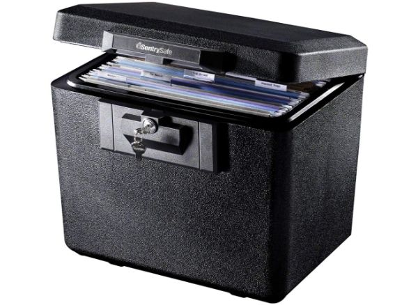 SentrySafe 1170 Fireproof Box with Key Lock